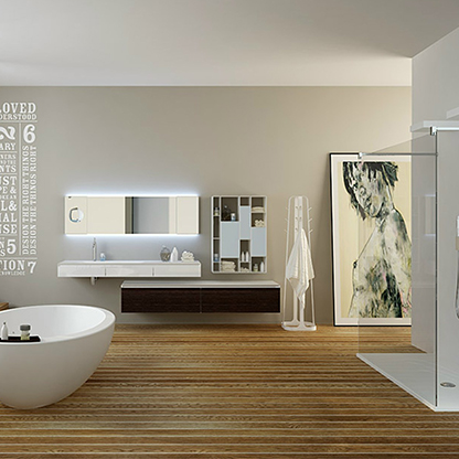 Showers and bathtubs