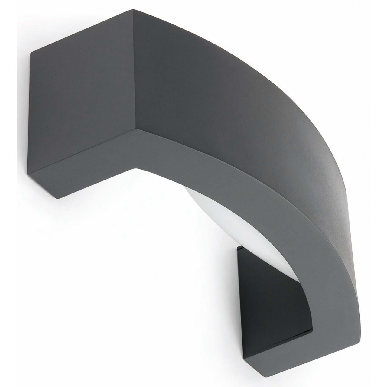 ANCORA Dark grey wall lamp