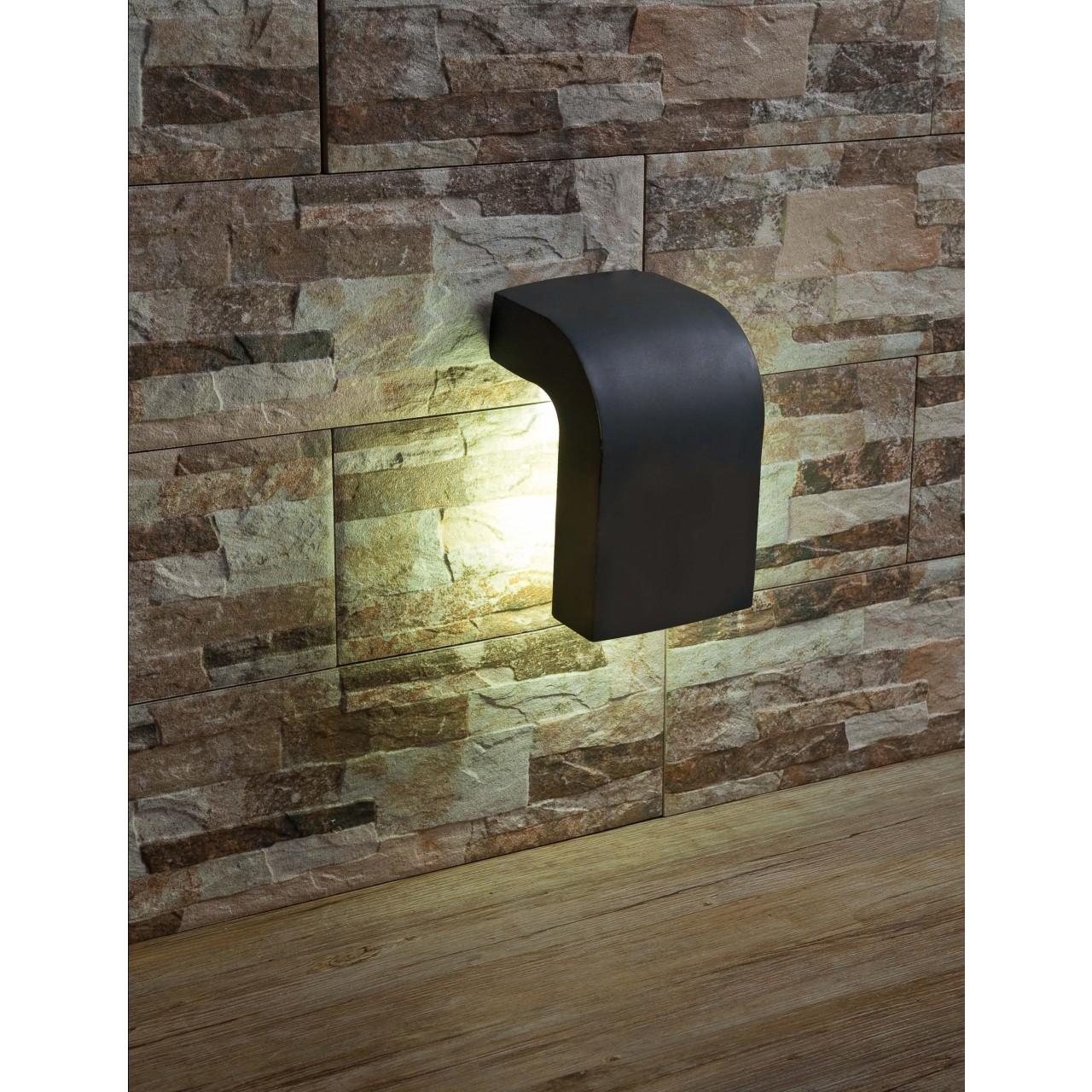 Klamp Dark grey wall lamp