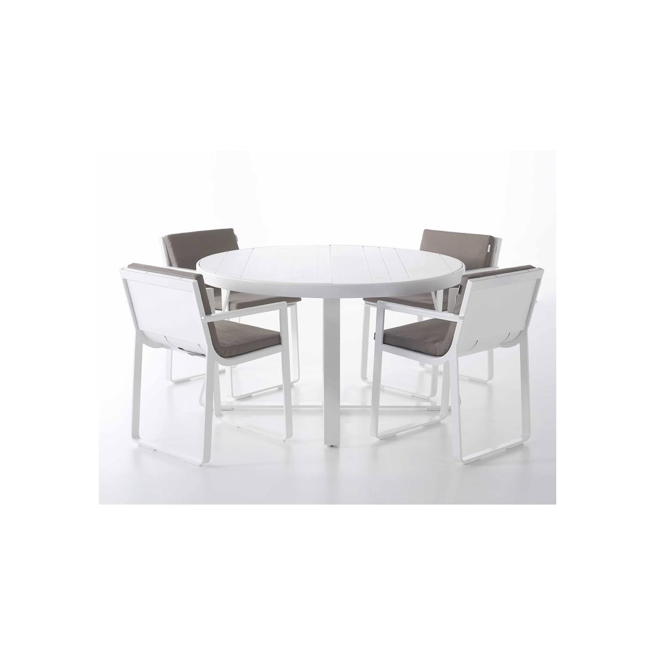 Flat High Round Table B