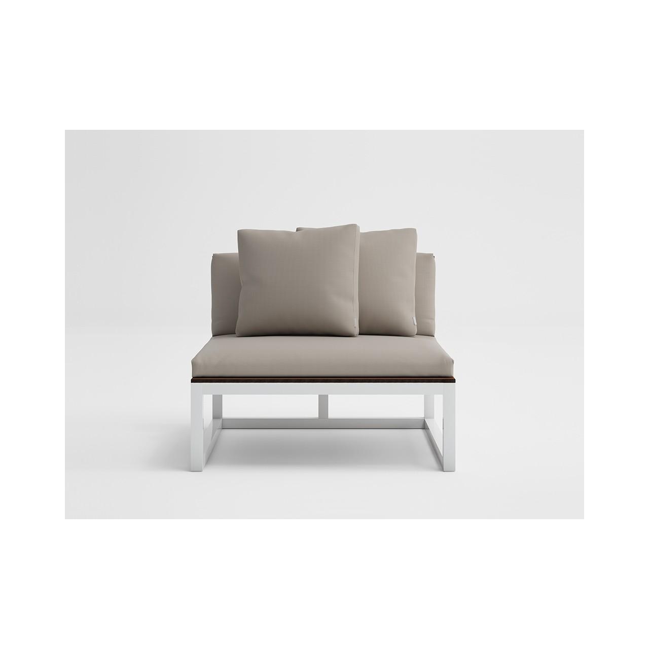 Saler Soft Teak - Modular Sofa 3 Mattress