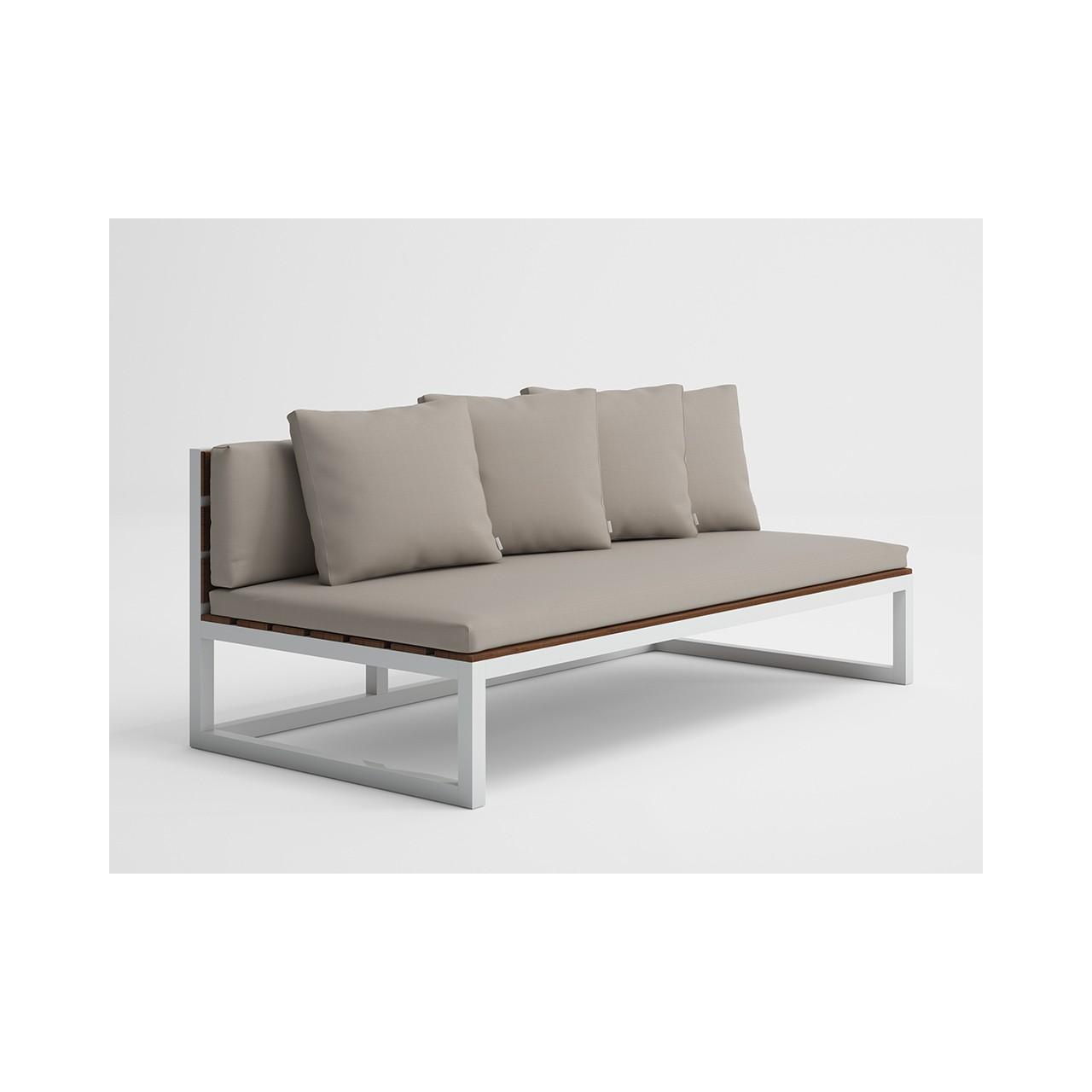 Saler Soft Teak - Modular Sofa 4