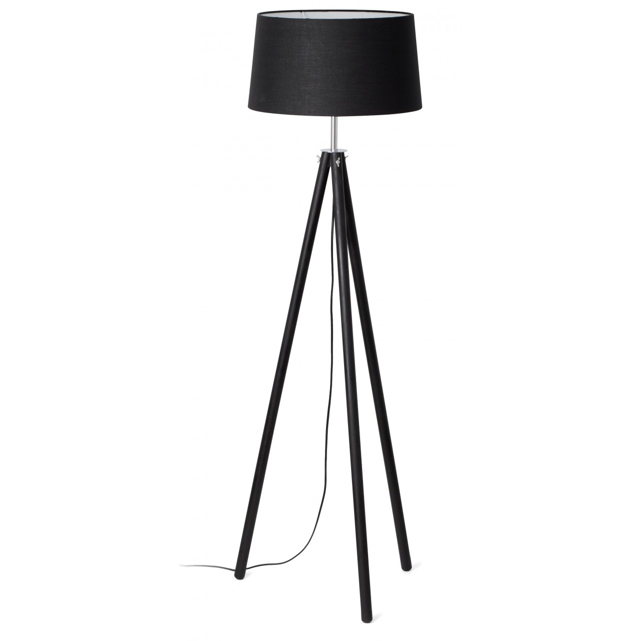DIX Black floor lamp