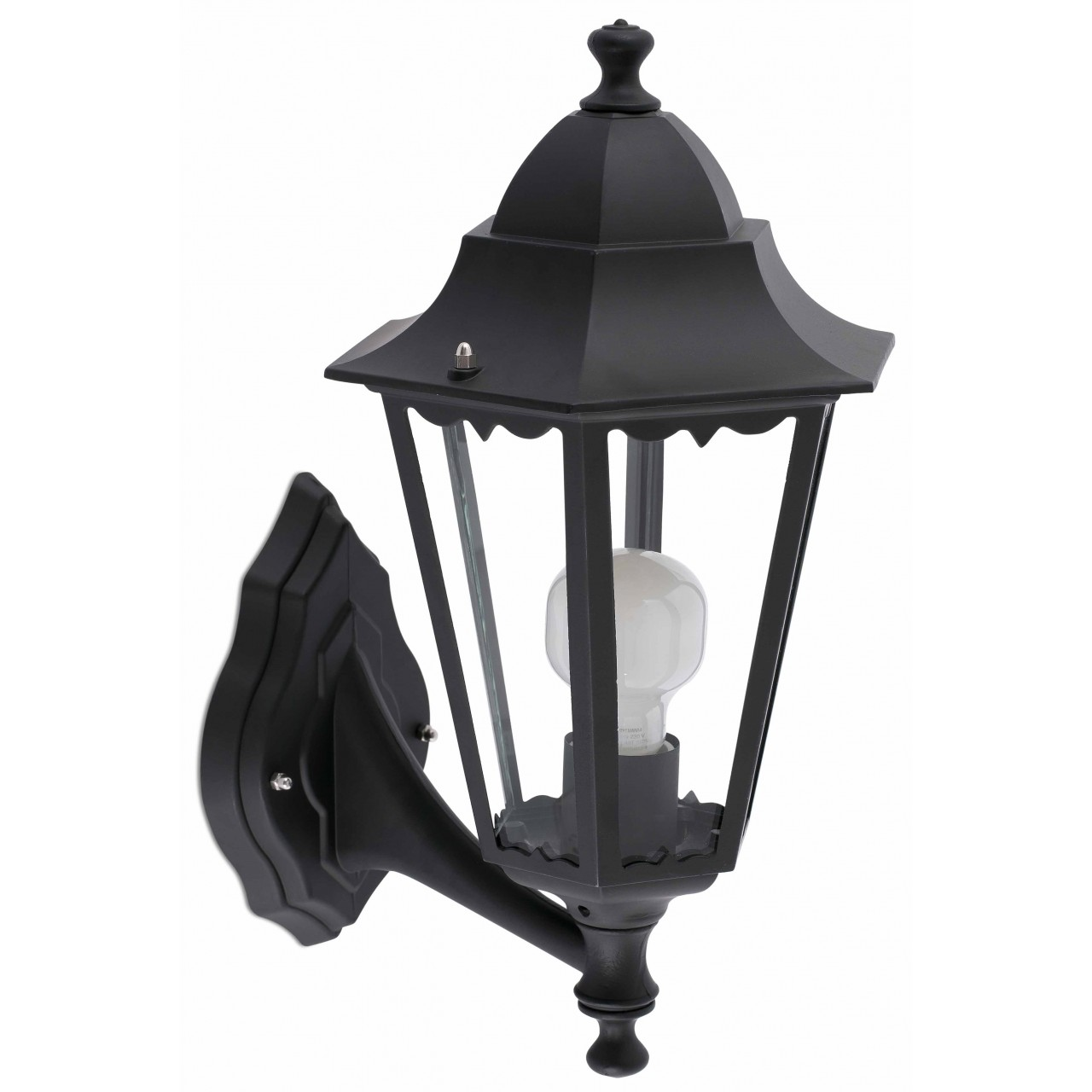 VIENA Black wall lamp
