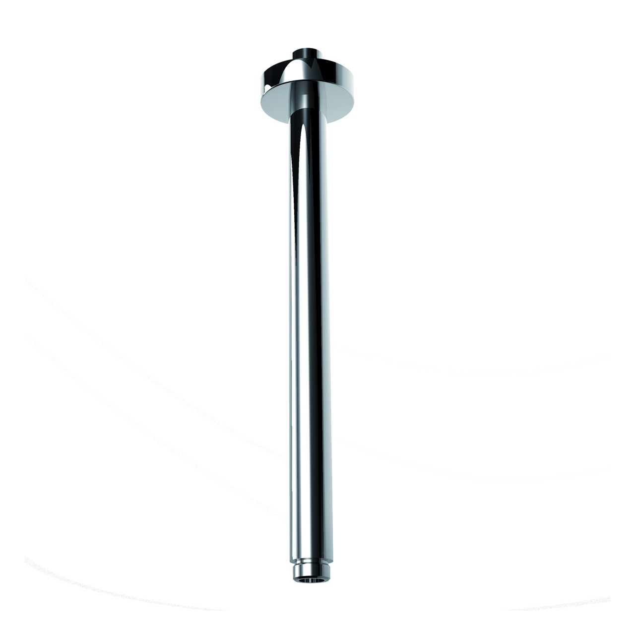Clock Work - Vertical Round Shower Arm