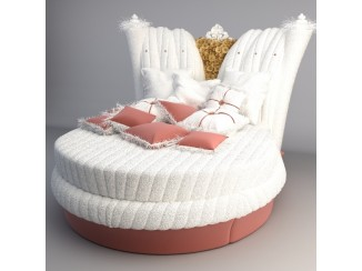 Chic Round Bed