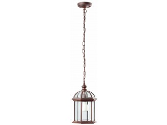 TERUEL Brown pendant lamp