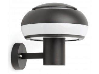 BOLETUS Dark grey wall lamp