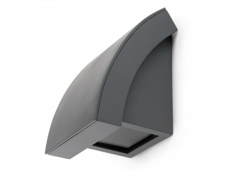 PROA LED Dark grey wall lamp