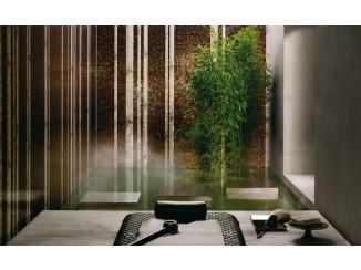 Bamboo mosaic