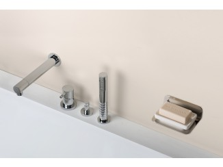 Diametro35Inox - Wall Spout For Bathtub
