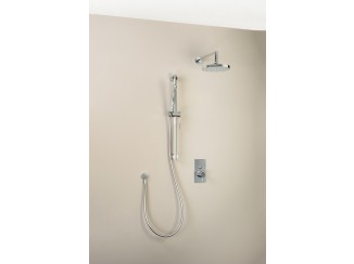 Diametro35 - Horizontal Round Shower Arm