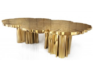 Fortuna Gold Dining Table