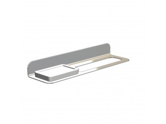 Fittings - Stainless Steel Single Towel Rail With Soap Holder
