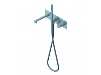 Diametro35InoxConcrete - Built-in Single Lever Bath Mixer