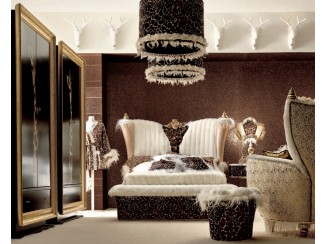 Chic Rectangular Bed