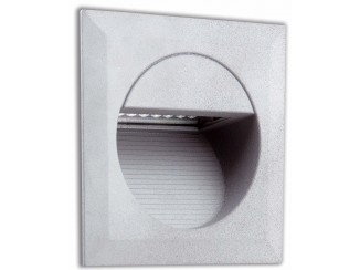 CARTER LED Grey recessed lamp