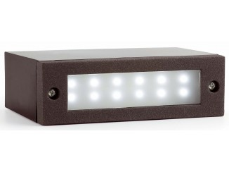 INDI-1 LED Dark grey recessed lamp