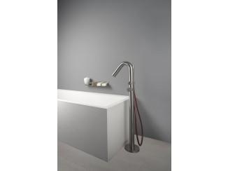 Diametro35InoxConcrete - Standing Floor Bath Group