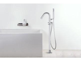 Diametro35Inox - Standing Floor Bath Group