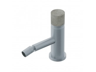 Diametro35InoxConcrete - Single Lever Bidet Mixer