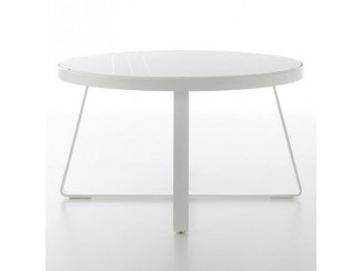 Flat High Round Table B