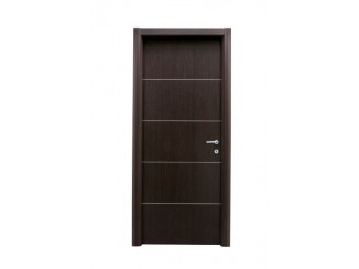 Two asymmetrical doors (second door is solid smooth)