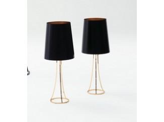 Skin table lamp framework