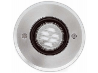 TECNO-6 Matt nickel recessed lamp