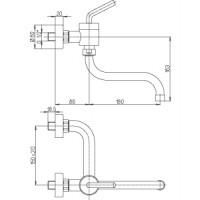 Paini kitchen mixer PIXEL NEW  501